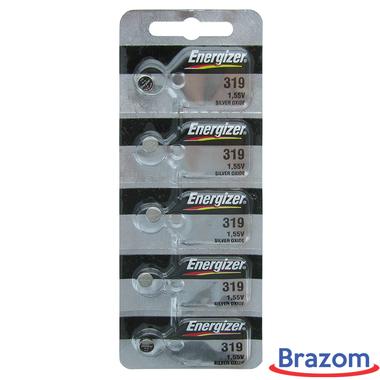 Bateria Energizer 319 / SR527SW Cartela com 05 unidades