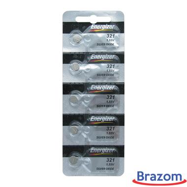 Bateria Energizer 321 / SR616SW Cartela com 05 unidades