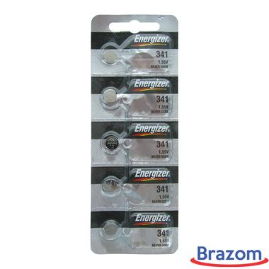Bateria Energizer 341 Cartela com 5 unidades