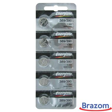 Bateria Energizer 389 / SR1130W Cartela com 05 unidades