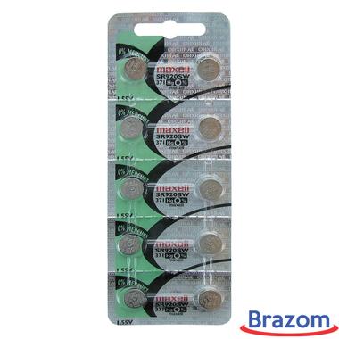Bateria Maxell 371 / SR920SW Cartela com 10 unidades