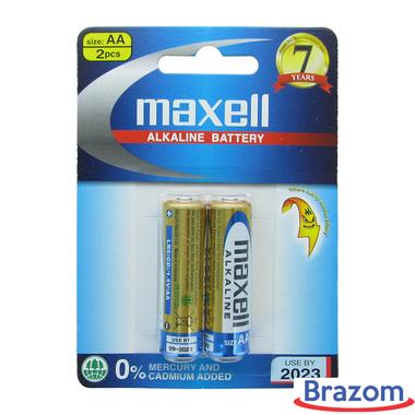 Bateria Maxell AA (Cartela c/ 02)