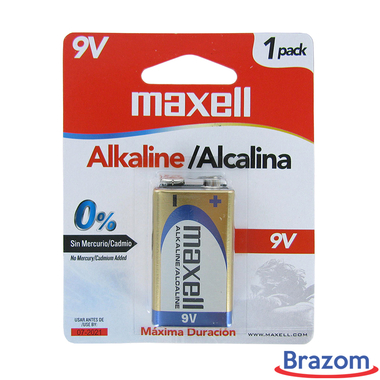 Bateria Maxell ALK 9V