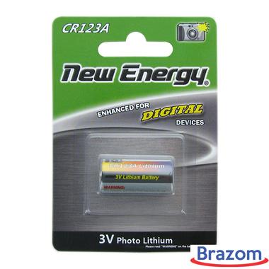 Bateria New Energy CR 123