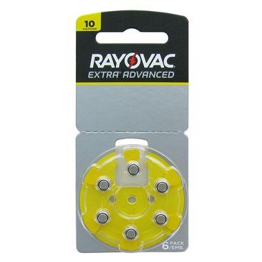 Bateria para Aparelho Auditivo Rayovac 10