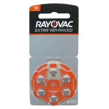 Bateria para Aparelho Auditivo Rayovac 13