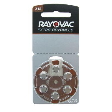 Bateria para Aparelho Auditivo Rayovac 312