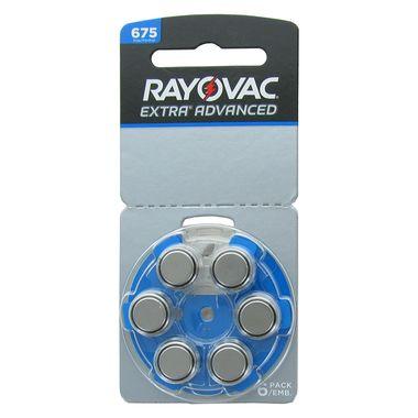 Bateria para Aparelho Auditivo Rayovac 675